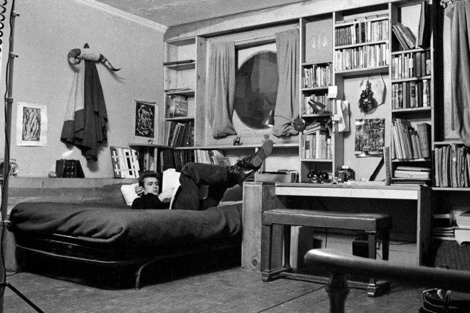 James Dean otthon