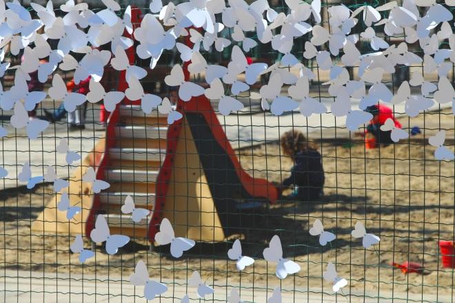 15000 papírlepke Budapest belvárosában 8