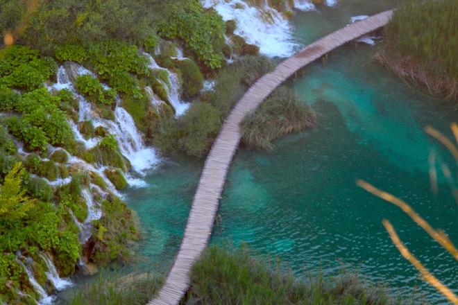 szögletes aranyhal Plitvicei tavak 12