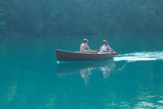 szögletes aranyhal Plitvicei tavak 3