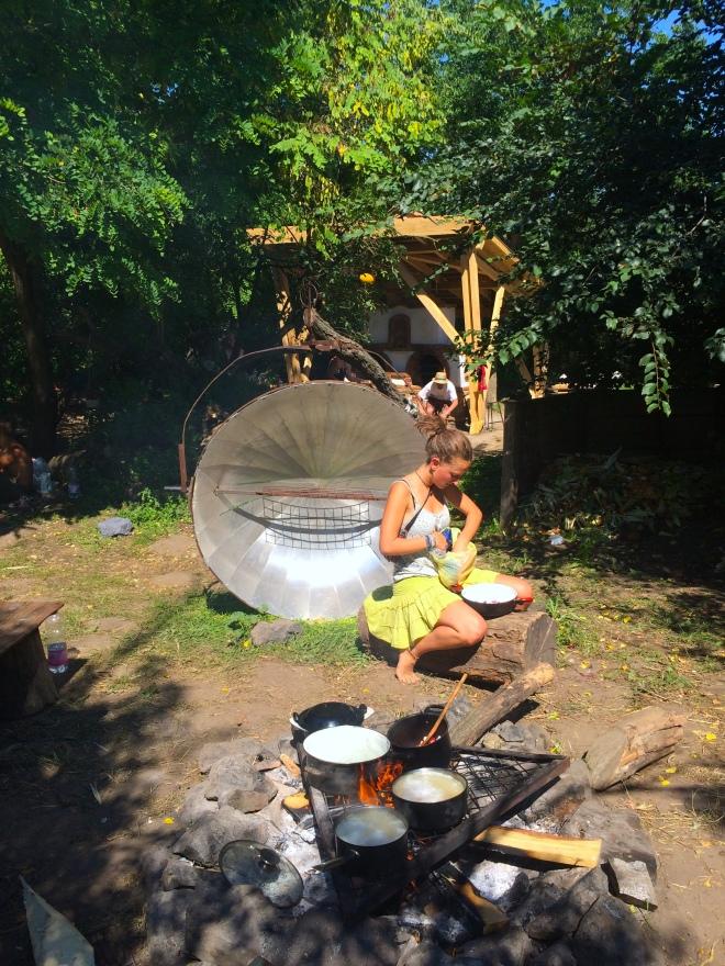 ozora 2016 közösségi főzés szögletes aranyhal